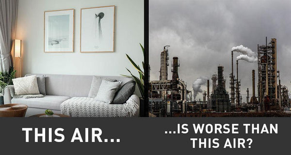"EPA's Shocking Statement: Air in U.S. Homes ""More Polluted"" Than Industrial Cities - Be Prepared - Emergency Essentials"