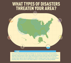 Infographic: US Flood Map - Disasters in Your Area