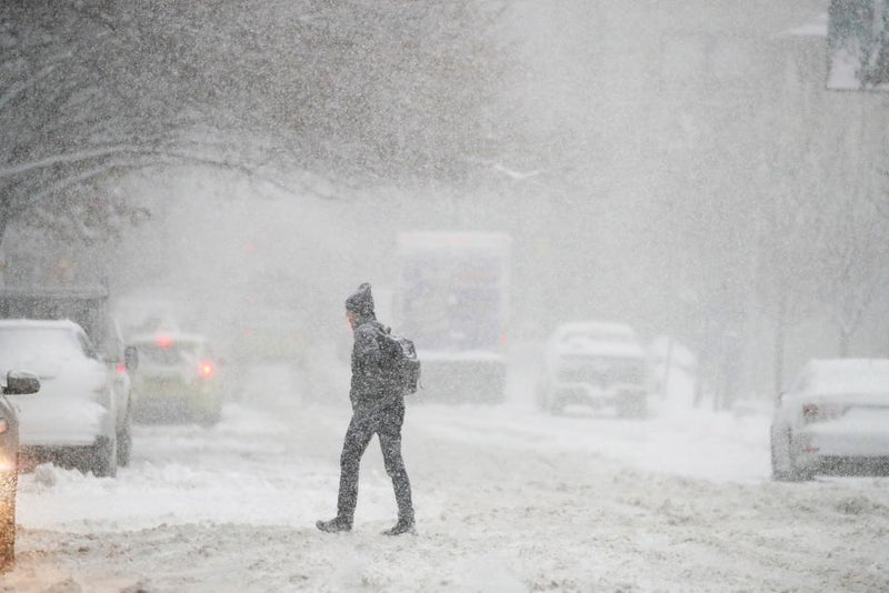 Winter Storm Niko Pounds the Northeast