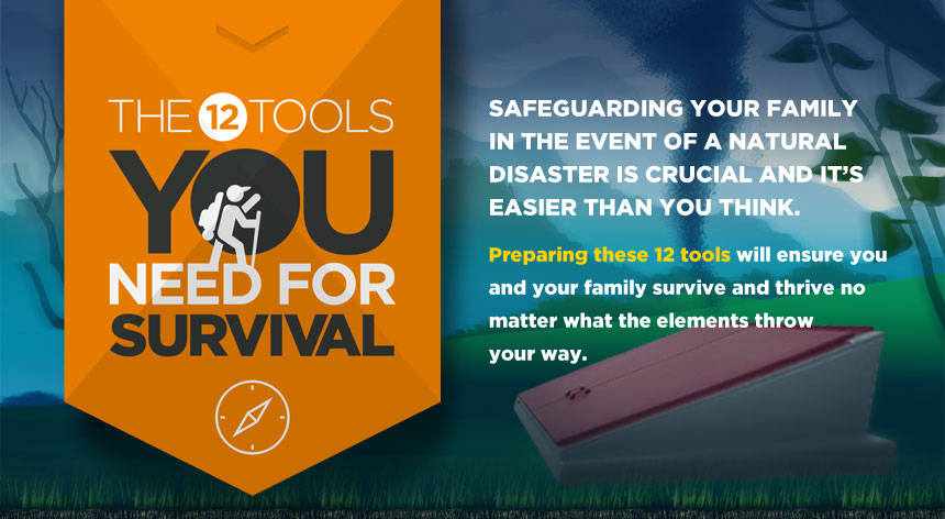 12 tools you need for survival intro