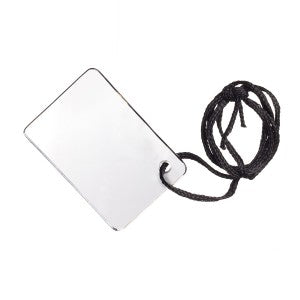 Emergency Signal Mirror with lanyard cord