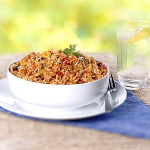 Mountain House Rice Entrees: New Orleans Style Rice with Shrimp and Ham