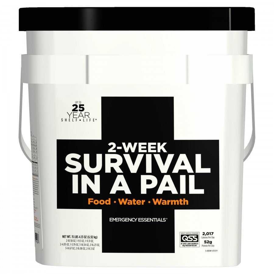 Emergency Essentials 2-Week Survival in a Pail