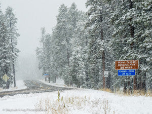 5-miles-from-the-north-rim-via-stephen-krieg-photographics Winter Survival