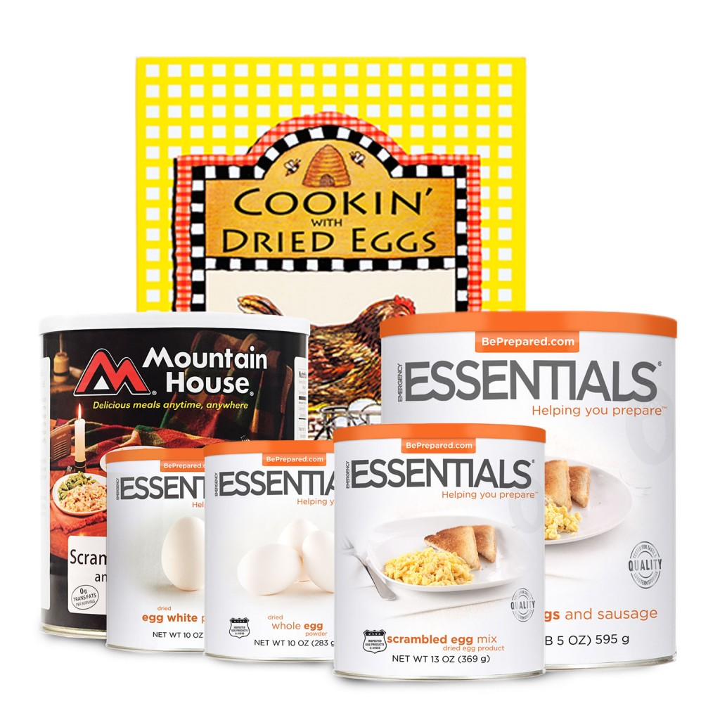 12 Days of Giveaways from Emergency Essentials - Day 6 - Six-piece cooking with eggs pack
