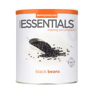 black-beans-large-can Food Storage Staples