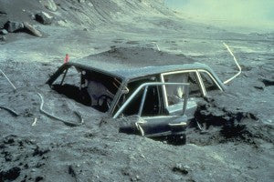 Car After Eruption
