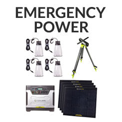 Check out gear that will help provide you with power in an emergency