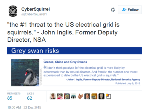 CyberSquirrel Tweet - electric