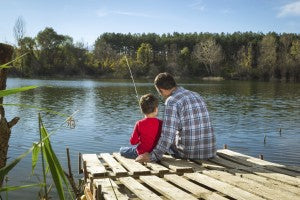 Preparing Dads - Fishing