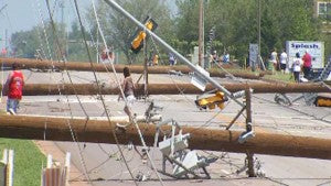 Downed Power Lines - via News on 6