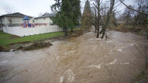 Flood - via The Weather Network - atmospheric river
