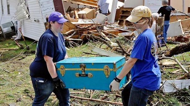 Severe Flooding Follows Tornadoes in the Southeast