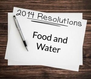 Prepper Style New Year's Resolutions