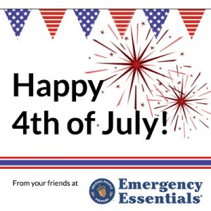 Happy Fourth of July from Emergency Essentials