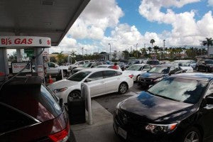 Gas Station - Photo via Miami Herald Waffle House Index