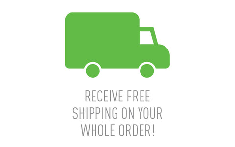 Receive Free Shipping!