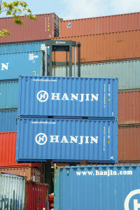 Hanjin Shipping Containers