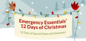 Emergency Essentials' 12 Days of Giveaways!-Day Four
