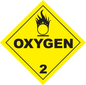 photo about Oxygen in Use Sign Printable identify Organizing Kids: Crisis Signs or symptoms
