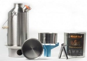 Kelly Kettle combo - Stainless Steel