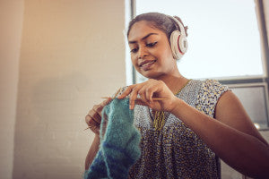 Young Person Knitting Producer