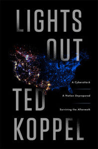Lights Out Book Cover - cyber attack