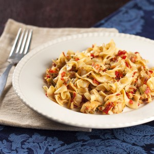 Cajun Creamy Chicken and Pasta