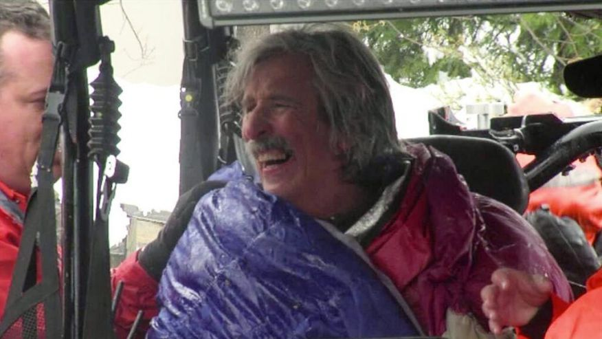 Missing Runner Survives Snowy California Wilderness and all he wants is a Burger!