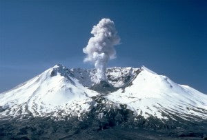 Mount Saint Helens Smoking