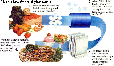 Oregon Freeze Dry_Freeze Drying Process