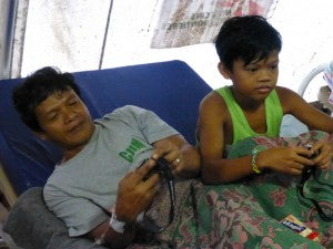 Refugees from Typhoon Haiyan still feel the affects of the destructive storm