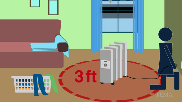 Check out the safety features of a portable heater before you purchase it