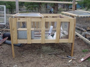 Diy Project Build Your Own Rabbit Hutch Emergency