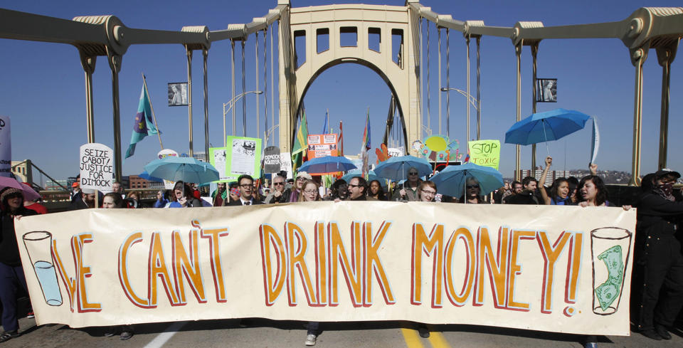 Oil and gas drilling are blamed for the pollution behind problems with drinking water
