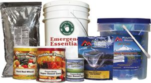 assorted emergency essentials products