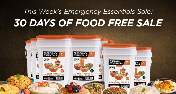buy 3 months of food and get 1 month of food free