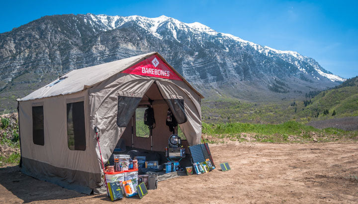Outdoor Camping Image of Tent