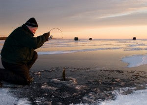 Why Ice Fishing Could Save Your Life