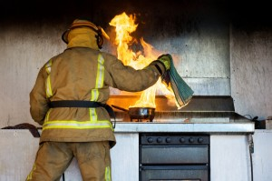 Preventing and Extinguishing Kitchen Fires