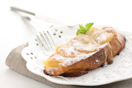 Christmas Cinnamon Apple French Toast from Food Storage