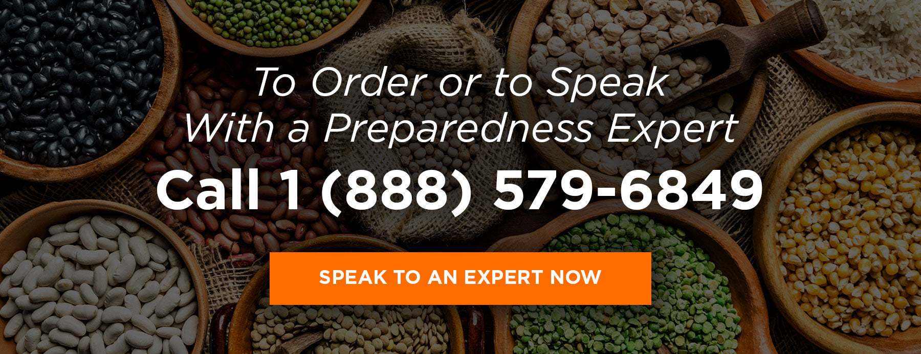Talk to a preparedness expert