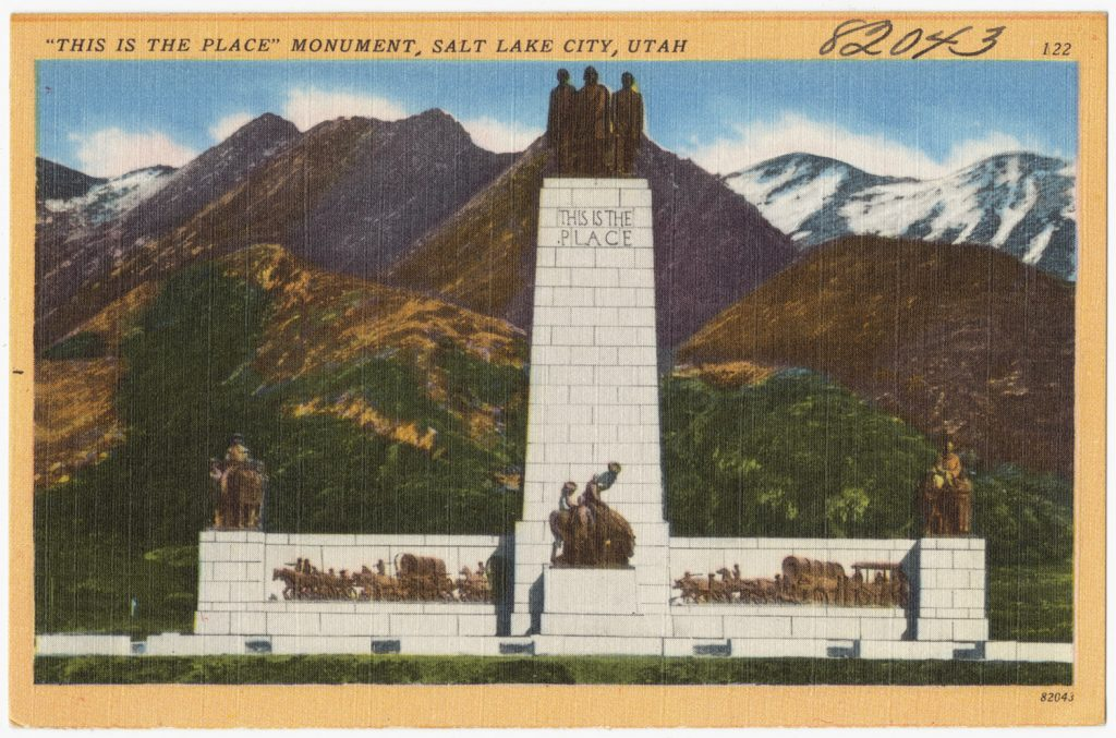 Utah this is the place monument
