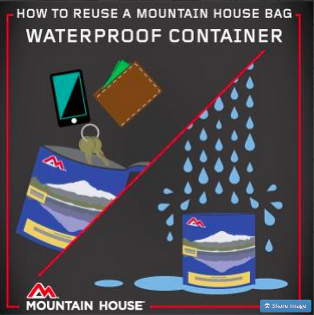8 Unexpected Uses for a Mountain House Pouch