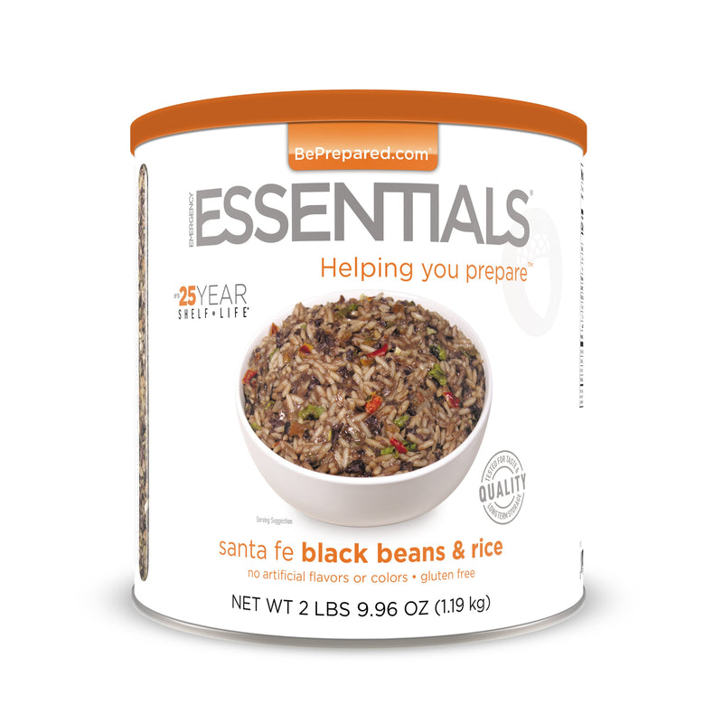 Emergency Essentials® Santa Fe Black Beans & Rice (4626623430796)