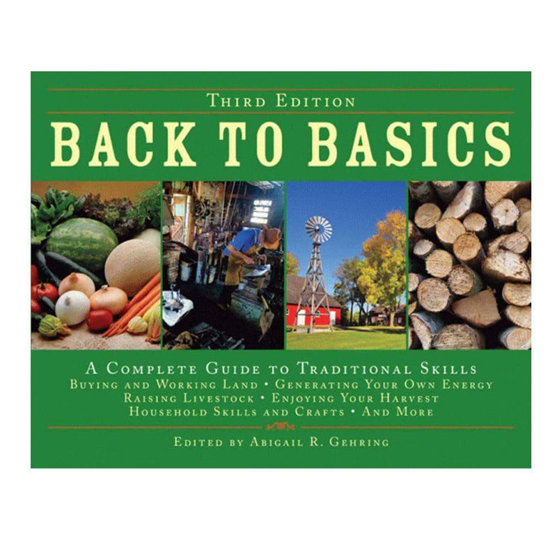 Back to Basics (A Complete Guide to Traditional Skills) 3rd Edition Hardcover - My Patriot Supply (4663489691788)