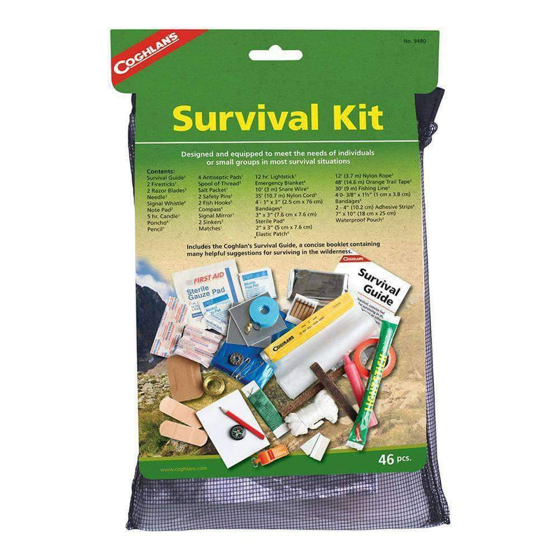 Survival Kit with Guide (46 pieces) - My Patriot Supply (4663495295116)