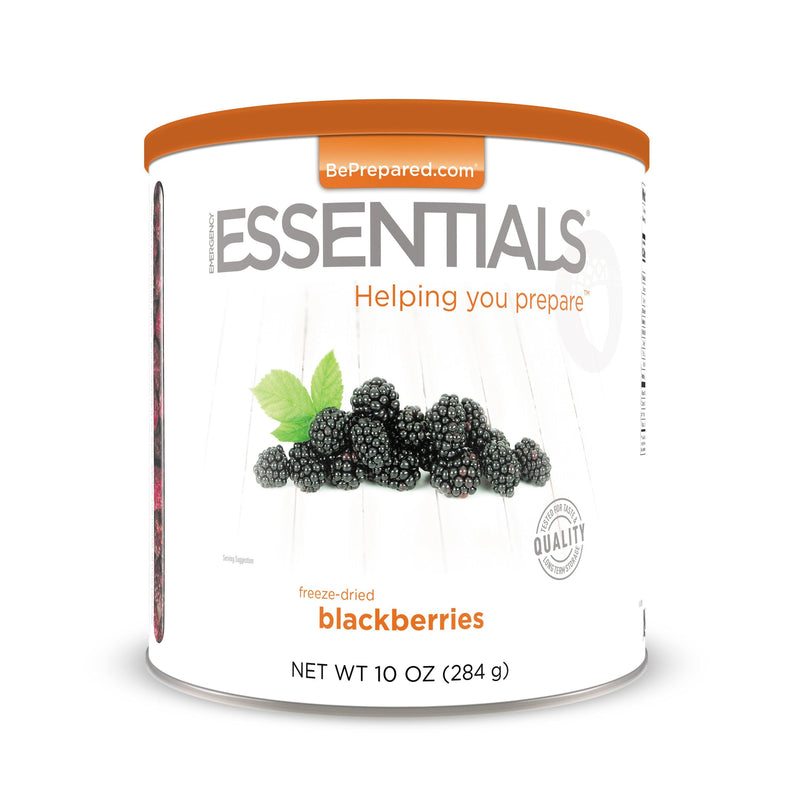 Emergency Essentials® Freeze-Dried Blackberries Large Can (4625763696780)