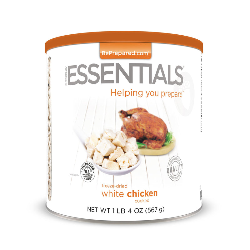 Emergency Essentials® Freeze-Dried Cooked White Chicken  (4626450350220)