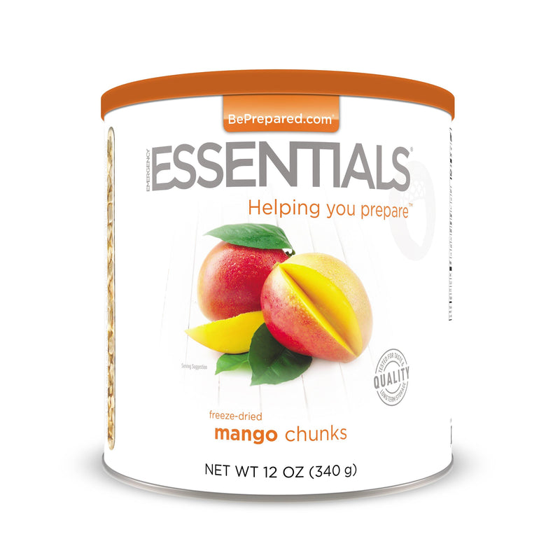 Emergency Essentials® Freeze-Dried Mango Chunks Large Can (4625781227660)